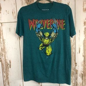 Marvel Wolverine Graphic T-shirt, Size Small.  U22